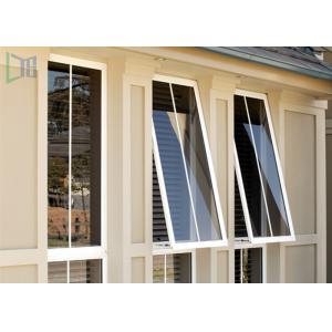 China Double Glazed Aluminium Awning Windows Anti Theft / Air Proof For Commercial on sale