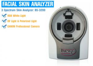 China RGB Visible Light 3D Skin Analyzing Machine 3: 4 Preview System For Wrinkle Analysis on sale