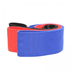 China Custom Printed Resistance Loop Fabric Exercise hip Bands Set for body building on sale