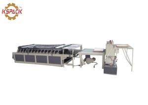 China Semi Automatic Corrugated Cardboard Flute Laminator Machine For Carton Box ISO Approval on sale