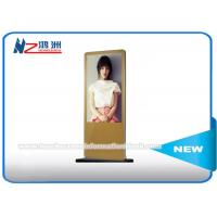 """Touch screen 47"""" Android Monitor Free Standing Kiosk For Advertising / Trade show"""