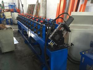 China 1-3mm thickness Custom CZ Purlin Roll Forming Machine , Steel Section Profile Roll Forming Equipment on sale