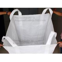China Factory price 100% new material 1 ton 1.5 ton PP bulk bag woven big bag jumbo bags FIBC,polypropylene pp woven bul
