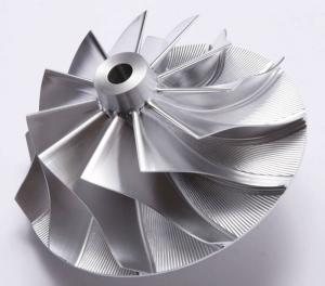 China Forged 5 Axles CNC Fully Machined Aluminum Billet Compressor Wheel For Various on sale