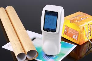 China NS800 paint colour chart printing spectrophotocolorimeter on sale