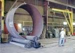 L'acier a forgé des rouleaux de plat pour la chaudière, industrie chimique/roulement de cylindre