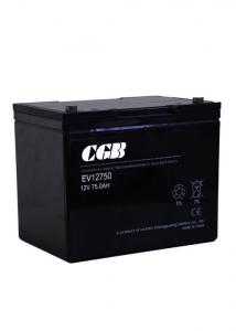 China Recycling Valve Regulated Lead Acid Battery 12V 75AH For UPS / EPS System on sale