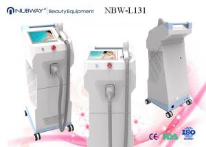 China Medical CE Remove All Skin Types Diode Laser Hair Removal Machine For Painless Hair Removal on sale