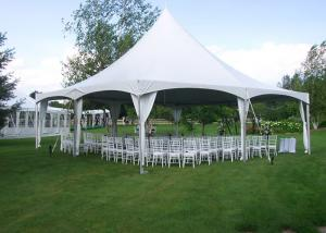 China Steel Pagoda Party Tent PVC Roof Water Proof Canopy Wedding Tent 10m on sale