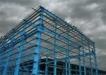 Durable Industrial Steel Structure Workshop Color Steel Sheet With Bridge Crane