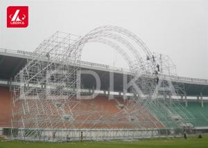 China Semi Round Big Circular Truss Aluminum Arched Roof Systems For Fashion Show on sale