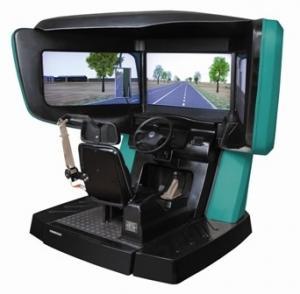 China 180 degree Interactive Driving Simulator , car drive simulators on sale