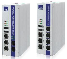 China Compact Din-Rail Network and Communication Platform Intel® Atom™ E3845 or E3825 EVOC EIC-3011 on sale