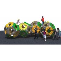 Spherical Freestanding Playground Equipment Climber Theme Consist Of Five Plastic Sphere