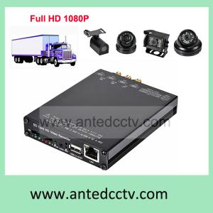 China 3G Mobile DVR Recorder, HD-SDI 1080P  Mobile DVR for buses,trucks, vehicles, SD card HD Vehicle DVR on sale