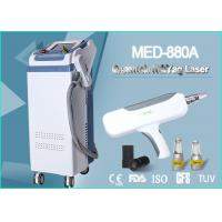 Medical Tattoo Removal Q Switch ND Yag Laser Machine 500W 2000 MJ 1064 nm / 532 nm