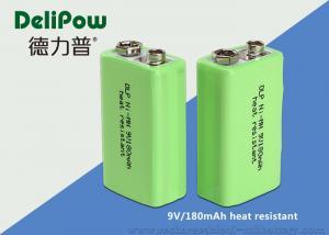 China 再充電可能な信頼性9v電池低い排出の高温電池 on sale