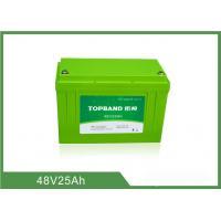 China Batterie 48V 25Ah, batterie profonde TB4825F-M120A de la moto Lifepo4 de cycle de lithium on sale