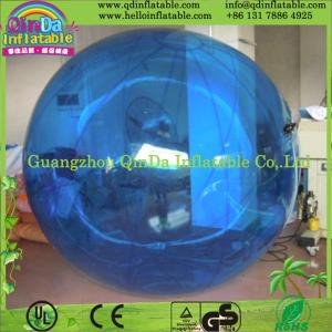 China Giant inflatable water walking ball human pvc jumbo floating water running ball on sale