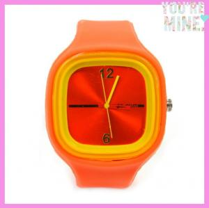 China Wholesale Silicone jelly watch on sale