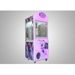 China Coin Operated Colorful Crane Game Machine Gift Vending Toy Arcade Claw Machine on sale