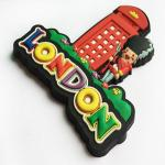 Souvenir Gift Personalised Fridge Magnet Customized Shaped Soft PVC Material