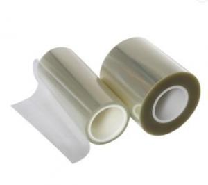 China FCC Transparent PET Self Adhesive Protective Film 0.075mm For Screen on sale