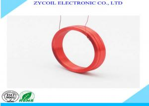 China Round Rfid Antenna Coil / Electronic Self-bonding Copper Wire Coil on sale