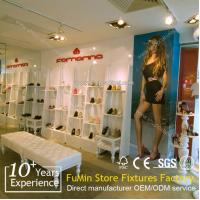 High quality retail store clear acrylic shoes display stand/ holder
