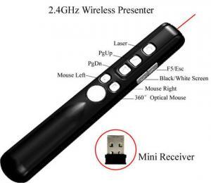 China New 2.4GHz Wireless Laser Pointer on sale