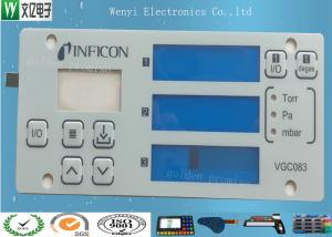 China Multi Layer Circuit Polydome Switch Control Keypad Panel Four Display Window Easy Pull Strip supplier