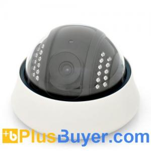 """China Vulture - 1/5"""" Color CMOS IP Dome Camera (22 IR LEDs, iOS + Android Supported) on sale"""