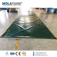 Molatank China Wholesale Collapsible Soft PVC Emergency Water Storage Bladder Tank