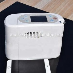 China High quality portable oxygen concentrator with battery and equivalent to 5L continuous flows on sale