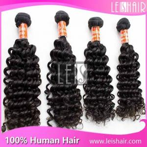 China hot selling hair products Indian deep curly virgin hair on sale