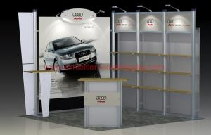 Exhibition Shell Scheme For Sale : 3mx3m exhibition display booth exhibition stands fair booth shell