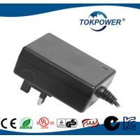 12V 24V Modem Power Adapter , Medical Power Adapter Travel 24W Wall Plug - in  EN IEC 60601