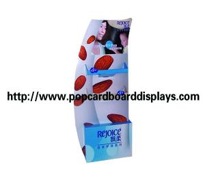 China 100% recyclable Corrugated pop Cardboard displays with screen printing on sale