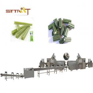 China 81kw Power Sus Dog Treats Production Machine / Dog Chews Making Machine on sale