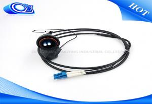 China IP67 Tactical Fiber Optic Cable Assembly With ODVA Waterproof Connector on sale