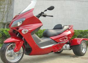 China Electric Start 3 Wheel 150cc Scooter , 3 Wheel Bike Motorcycle With Windshield on sale