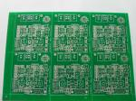 Rigid Industrial PCB Board with HASL , FR4 Base 2 Layer Board For Industrial Use