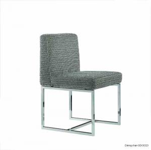 Quality Fabric Dining Chairs , Modern Upholstered Dining Room Chair for sale
