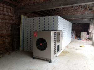 China Hot Air Heat Pump Fruit Fish Meat Drying Dryer Cabinet Unit on sale