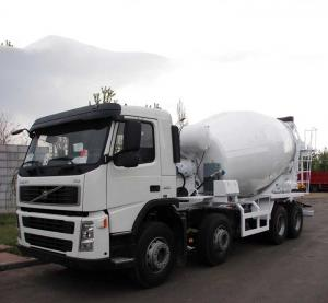China VOLVO FM400 CONCRETE MIXER TRANSPORT TRUCK 8*4 on sale