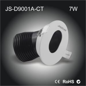 China wall washer 7w LED spotlights with narrow beam angle and warm white CCT on sale