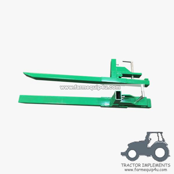 Tractor Front end loader clamp on pallet forks 3000lbs for