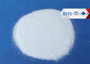 China Iron Free Ceramic Micro Beads B170 Blasting Media For Alloy Surface Finishing on sale