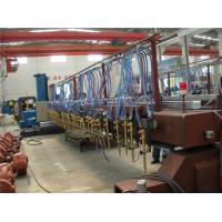High Precision CNC Flame / Oxy-fuel Cutting Machine for H-beam Strip Cutting