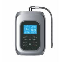 China 2017 water ionizer alkaline machine oem or brand with 9999liter filter tap faucet with 5 stage 0.01um water clear fi on sale